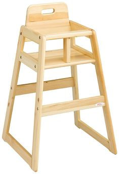 How To Build A Homemade High Chair Do It Yourself In 2019 Honey