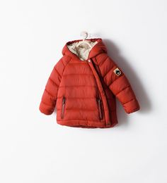 Image 1 of PADDED JACKET WITH SIDE ZIP from Zara
