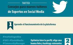Los expertos en Social Media nos dan 13 consejos para Twitter (infografía)