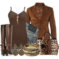"""Gucci Brown Suede Blazer"" by cindycook10 on Polyvore"