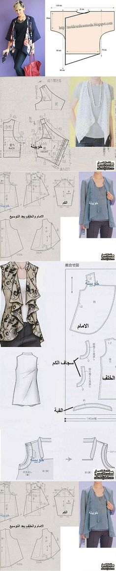 Sew Simple Patterns Some very Pretty Patterns. Some with Pattern Drafts. Diy Clothing, Sewing Clothes, Clothing Patterns, Dress Patterns, Easy Sewing Patterns, Pretty Patterns, Sewing Hacks, Sewing Tutorials, Diy Kleidung