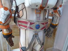 The Martian NASA spacesuit back costume detail