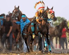 ~ Diana Volk Photography ~ The winner of the 2014 Crow Fair Indian Relay Race is the team of HisBadHorse. Lynwood JR making his final exchange and being cheered on by his team. Native American Horses, Native American Photos, Native American Women, American Indians, American Sports, American Life, Cheyenne Tribe, Indian Horses, Relay Races