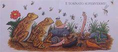 Chissà se dopo questa incessante pioggia spunterà dal terreno qualche verme... anzi qualche #SUPERVERME!!!  Uno questo spassosissimo racconto di Julia Donaldson, illustrato da Axel Scheffer. #lettureperipiccoli
