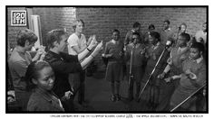 Photo 295 of 365  Hanson and the DD Dliwayo School Choir 2006 - The Walk Recording - Soweto, South Africa    This pic captures one of the greatest moments in the making of any of our records. Here we are working with children from Soweto, who joined us to sing on several songs on The Walk record. Are there songs on other HANSON records that you would like to hear with a choir? Tell us what they are?     #Hanson #Hanson20th