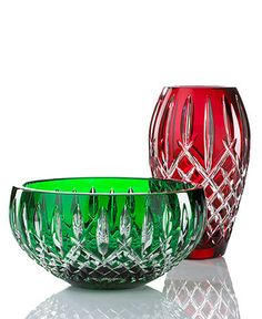 Waterford Crystal Gifts, Araglin Prestige Collection - Bowls & Vases - for the home - Macy's Waterford Crystal, Baccarat Crystal, Crystal Glassware, Crystal Vase, Crystal Gifts, Cut Glass, Glass Art, Argent Sterling, Carnival Glass