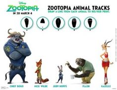 Zootopia Party Printables And Fun Activities | SKGaleana