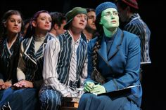 Idina Menzel (Elphaba) in the original West End production.