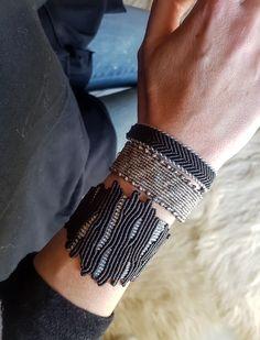 Black Coral design jewelry,Macrame jewelry,Adjustable,Wide macrame,One of a kind… – Willkommen in meiner Welt Macrame Bracelet Diy, Macrame Bag, Bracelet Crafts, Macrame Jewelry, Best Q, Coral Design, Diy Design, Micro Macramé, Macrame Patterns