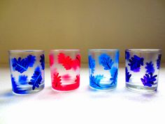 #Leafy #glasses for you! Order here: http://www.artzolo.com/craft/leafy-glasses