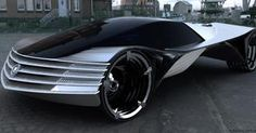 The Cadillac World Thorium Fueled Concept car theoretically powered by an onboard nuclear reactor that uses thorium as its fuel.