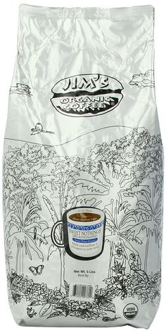 Jim's Sweet Nothings Decaf Coffee, Organic, 5-Pound >>> Check this awesome product by going to the link at the image. (This is an affiliate link and I receive a commission for the sales)