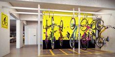 Perspectiva Artística do Bicicletario