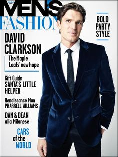 David Clarkson on the Winter 2014 issues of Fashion Canada (on sale Friday, November 15).