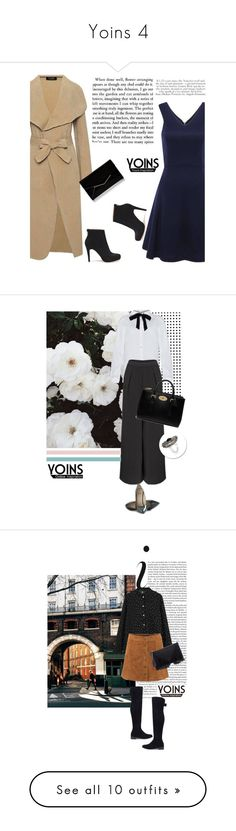 """Yoins 4"" by nejra-l ❤ liked on Polyvore featuring Furla, Zephyr, Mulberry, Sole Society, I Love Ugly, Oscar de la Renta, Casadei, Lipsy, J.Crew and Louis Vuitton"