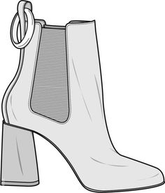 Johannes 3, Croquis Fashion, Kleidung Design, Shoe Sketches, Fashion Portfolio, Fashion Design Sketches, Drawing Clothes, Technical Drawing, Shoe Art