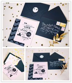 Inspiration Shoot: Graphic And Glitz, Part One - Inspired Bride Carton Invitation, Invitation Paper, Invitation Design, Wedding Bride, Our Wedding, Dream Wedding, Wedding Stationary, Wedding Invitations, Wedding Designs