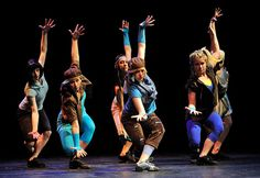 """Contemporary ballet, modern dance, surrealist art and elements of hip-hop in The University of Akron Dance Company's Spring 2013 """"Dance Destination Akron"""""""