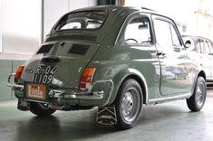 1970y FIAT500L green -Original-