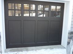 Within the previous ten years that unfavorable view of the garage has changed considerably. Climatizing the garage has actually become much more than an afterthought. Basement Remodel Diy, Garage Remodel, Basement Remodeling, Garages, Black Garage Doors, Garage Atelier, Garage Door Makeover, Carriage Doors, Garage Door Design