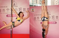 Miss Chinese International 2018: Elisa Santos Does Pole Dancing