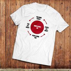 Bomb Science, Anti War T-Shirt, Peace, ban the bomb, CND Tee