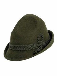 a454150ec28e3 Alpine Bavarian Hat - Black