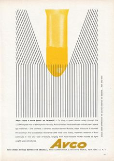 The Modernist Nerd: Vintage Science Ads from the 1950s and 1960s | Brain Pickings