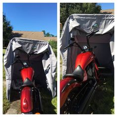 The Bike Shield Motorcycle Shelter / Cover