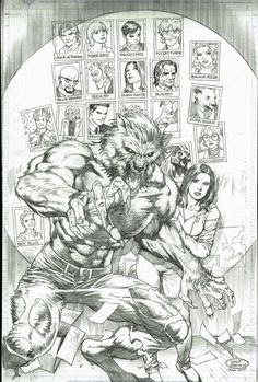 Fables comic books. Bigby and Snow White. (500×741)