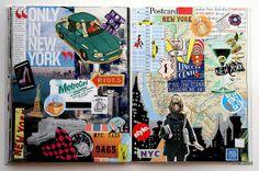 21 x 28 cms. x 11 in. Not digital images at all. Sketchbook Layout, Gcse Art Sketchbook, Sketch Journal, Sketchbook Inspiration, Art Sketches, Art Drawings, Photography Sketchbook, Magazine Collage, Cool Journals