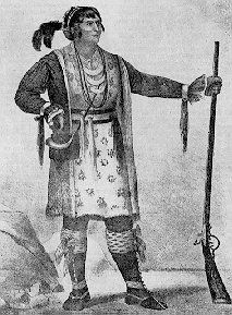 Osceola was born around 1804 among the Creek Indians in Georgia but moved to Florida with his mother. Description from rootsweb.ancestry.com. I searched for this on bing.com/images