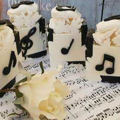 Music Soap -with a nice mix of different fragrance and essential oils of grapefruit, lilac, lavender and sandalwood. This elegant black and… Lilac, Lavender, Handmade Soaps, Grapefruit, Essential Oils, Fragrance, Design Inspiration, Elegant, Random