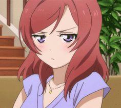 Live Gif, Maki Nishikino, Anime Date, Icon Gif, Gifs, Anime Expressions, Love Live, Fairy Tail Anime, Zootopia