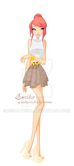 Commission: Enrika by ReallyNika.deviantart.com on @DeviantArt