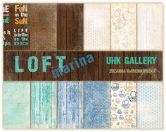 LOFT marina - zestaw papierów - PREORDER :: UHK Gallery