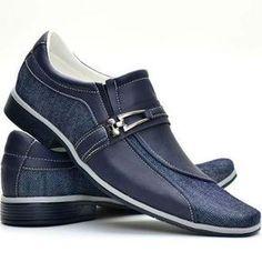 347b65041786e Sapato Social Masculino Casual Bico Alongado Lançamento - R$ 89,00 em Mercado  Livre