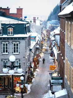 Photographic evidence as to why one must witness Quebec City in winter at least once in one's lifetime + helpful tips for planning a memorable trip. Quebec City Christmas, Quebec Winter, Canadian Christmas, Christmas Mood, Old Quebec, Montreal Quebec, Alberta Canada, Ottawa, Ontario