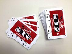 Diseño de imagen de marca y tarjetas de visita para MuSicks.