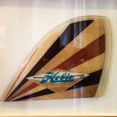 Hobie History:: Throwback: Fin. | Hobie Surf Shop l BLOG Surfboard Shop, Surfboard Fins, Vintage Candy, Vintage Wood, Vintage Surfboards, Entry Way Design, Water Lighting, Shop Front Design, Surf Style