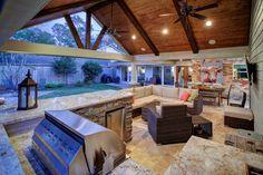 Outdoor Living Rooms, Living Spaces, Living Area, Adirondack Furniture, Adirondack Chairs, Backyard Patio Designs, Backyard Pergola, Pergola Plans, Pergola Kits