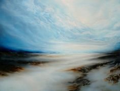 Very Large Canvas Abstract Seascape Oil by SimonkennysPaintings, £3000.00 WOW!!!