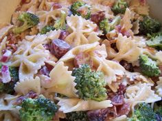 Broccoli, Grape and Pasta Salad on MyRecipeMagic.com