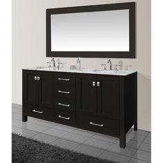 Bathroom Double Vanity Sink Vanities Bath The Home Depot Pinterest And