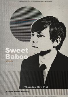 Eat Your Own Ears Sweet Baboo - London Fields Brewery - 21 May 2015. Can't wait!!