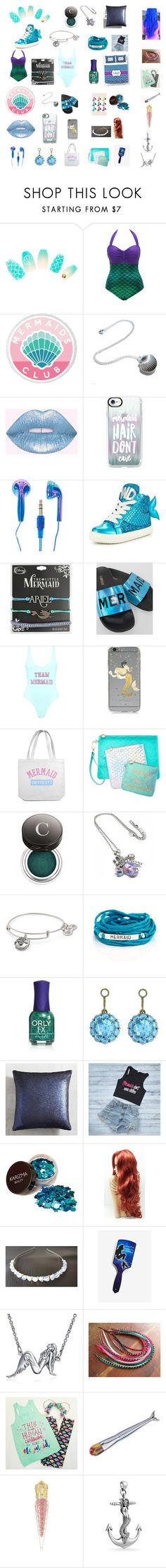 """""""MERMAID POWER!!!!!!!!!"""" by brianna-tito ❤ liked on Polyvore featuring Casetify, Miss KG, Disney, The White Brand, Boohoo, Samsung, Celebrate Shop, Chantecaille, Alex and Ani and Blooming Lotus Jewelry"""