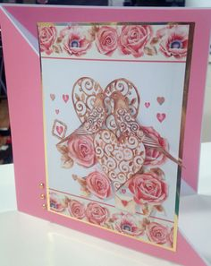 Designed for a Create and Craft USA Hunkydory Show Create And Craft, Heartfelt Creations, Little Books, Valentine Day Cards, Card Ideas, Usa, Crafts, Design, Crafting