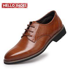 """Товары Из Китая - Купить """"2015 новый высокое качество натуральная кожа мужчины башмаки обувь, Кружева-up баллок бизнес оксфорды обувь, Мужчины туфли"""" всего за 5208.26 RUR."""