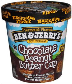 Ben & Jerry's Chocolate Peanut Butter Cup Ice Cream