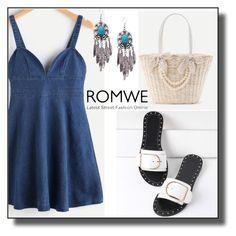 """Romwe -XXII/10"" by dzemila-c ❤ liked on Polyvore featuring romwe"